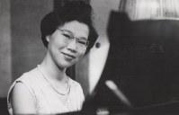 ピアニストの賀集裕子=1965年ごろ