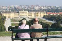 シェーンブルン宮殿はウィーン市民の憩いの場だ