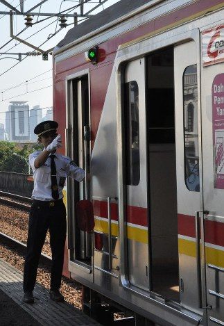 Japanese style train culture booming in Jakarta  The Mainichi