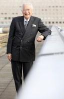 国際交流基金顧問の小倉和夫さん=2017年12月1日、宮武祐希撮影