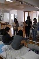 高知リハビリテーション学院で学ぶ学生=高知県土佐市で