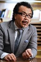 ノンフィクション作家の高橋秀実さん=渡部直樹撮影