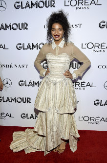 Actress Indya Moore attends the Glamour Women of the Year Awards at Spring Studios on Nov. 12, 2018, in New York. (Photo by Evan Agostini/Invision/AP)