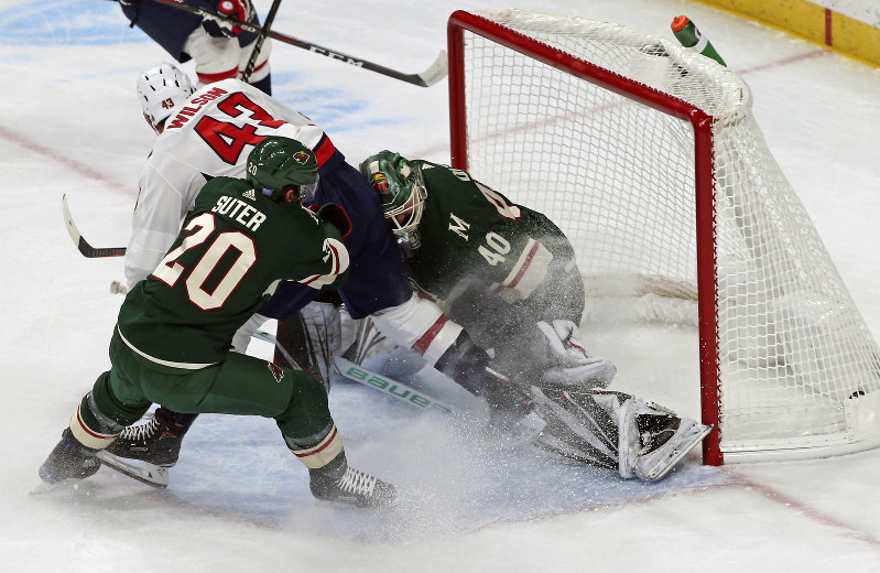Nhl Suspension Over Early Wilson Helps Lead Caps Past Wild The