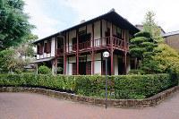 新島旧邸=京都市上京区で、北林靖彦撮影