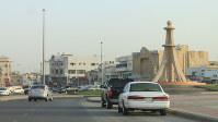 約5000人のデモが起きた広場=サウジアラビア東部カティフで2011年4月、筆者撮影