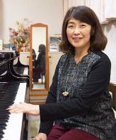 左手のピアニストのためのオーディションに北陸から唯一出場した黒崎菜保子さん=石川県野々市市で、久木田照子撮影