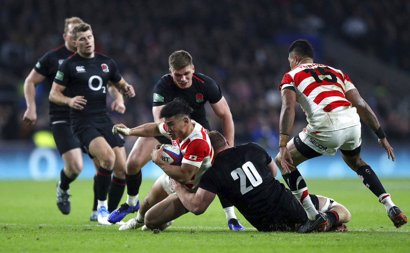 Debut try for Cokanasiga as England rally to avoid Japan upset