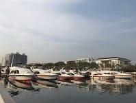 ジャカルタのアンチョール港