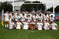 第98回全国ラグビーフットボール奈良県大会で優勝した天理=奈良県橿原市で2018年11月18日午後3時39分、姜弘修撮影