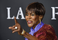 In this Nov. 1, 2017 file photo, Cicely Tyson, a cast member in
