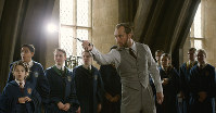 This image released by Warner Bros. Pictures shows Jude Law in a scene from