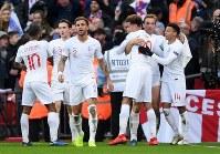 イングランドがホームでクロアチアに逆転勝利 [写真]=Getty Images