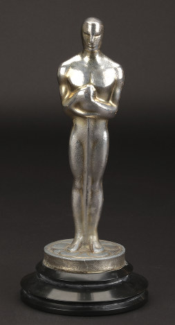 This undated image provided by Profiles in History shows Irving Thalberg's Academy Award for best picture in
