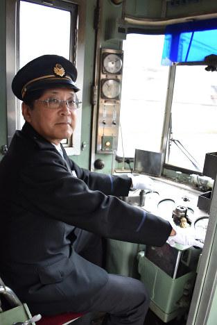 「引退しても、何らかの形で鉄道に携わっていたい」 撮影=竹縄昌