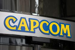 据え置き型ゲーム機向けアクションゲームなどを提供する「カプコン」のロゴ(Bloomberg)