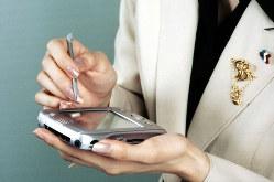 今は市場から消えたPDA端末。特許はスマートフォンに使用されている