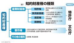 図1 知的財産権の種類