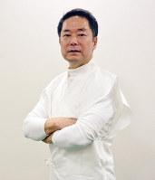 大阪新春公演・林英哲コンサートスペシャル2019を準備する和太鼓奏者の林英哲さん=大阪市北区で、中尾卓司撮影
