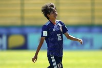 準々決勝進出を決めたU-17女子日本代表 [写真]=FIFA via Getty Images