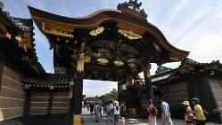 二条城の二の丸御殿唐門=2013年8月28日、花澤茂人撮影