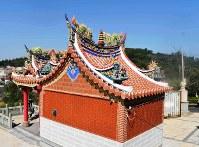金門島や周辺の島々は美しい伝統建築が特徴的だ=台湾・烈嶼郷(小金門)で2018年10月28日午前9時30分、福岡静哉撮影