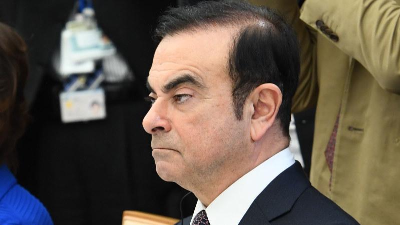 日産前会長のカルロス・ゴーン容疑者=2017年2月21日、川田雅浩撮影