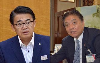 泥仕合:IR巡り、愛知県知事と名...