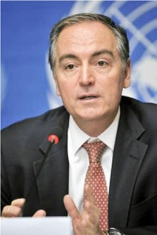 Panos Moumtzis, U.N. Regional Humanitarian Coordinator for the Syria Crisis