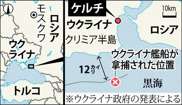 ロシア・ウクライナ:非難合戦 艦船拿捕は公海上?   毎日新聞