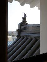 尼崎城内部=兵庫県尼崎市で2018年11月30日、梅田麻衣子撮影