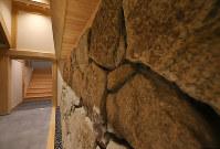 尼崎城の入り口付近=兵庫県尼崎市で2018年11月30日、梅田麻衣子撮影