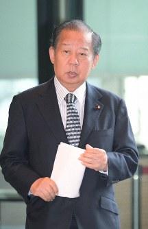 自民党の二階俊博幹事長=首相官邸で2018年11月12日、川田雅浩撮影