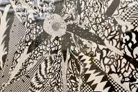「ここから3」で展示されている大庭航介さんの作品(部分)=東京都港区の国立新美術館で2018年12月5日、岡本同世撮影