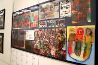 「ここから3」で展示されている吉川真美さんの作品=東京都港区の国立新美術館で2018年12月5日、岡本同世撮影