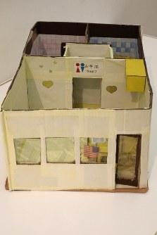 「ここから3」で展示されている熊田史康さんの作品=東京都港区の国立新美術館で2018年12月5日、岡本同世撮影