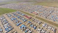 イラク・アラバット避難民キャンプ=西谷文和さん提供