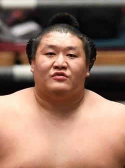 Sumo wrestler Takanoiwa (Mainichi)