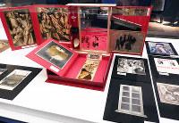 「マルセル・デュシャンと日本美術」の展示作品=東京都台東区上野公園の東京国立博物館で、青山郁子撮影