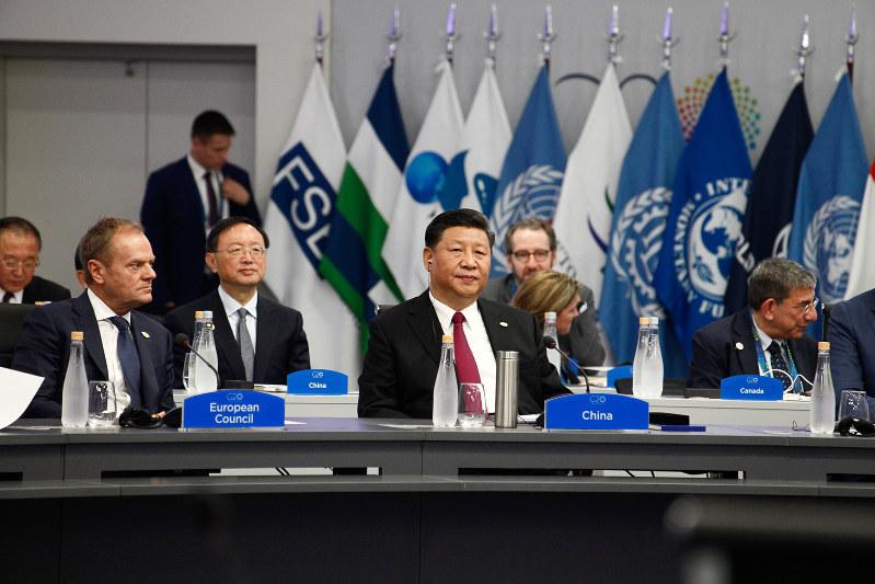 米の要求にどこまで受け入れられるか(G20に参加した習近平氏) Bloomberg