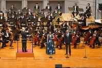 パーヴォ・ヤルヴィ&NHK交響楽団による演奏会形式の「ウエスト・サイド・ストーリー」(C)K.Miura