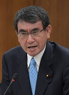 Foreign Minister Taro Kono speaks during a House of Representatives Foreign Affairs Committee session on Dec. 5, 2018. (Mainichi/Masahiro Kawata)