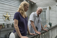 This image released by Warner Bros. Pictures shows Alison Eastwood, left, and Clint Eastwood in a scene from