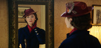 This image released by Disney shows Emily Blunt as Mary Poppins in