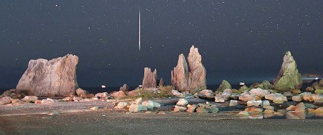 In Photos: Annual meteor shower lights up sky over Japan