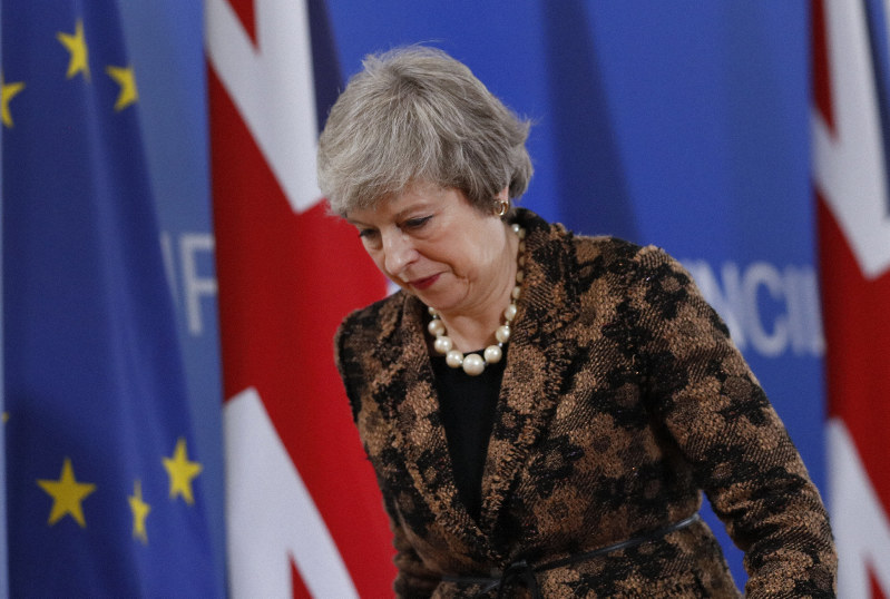 UK PM May says she will leave by 2022 election