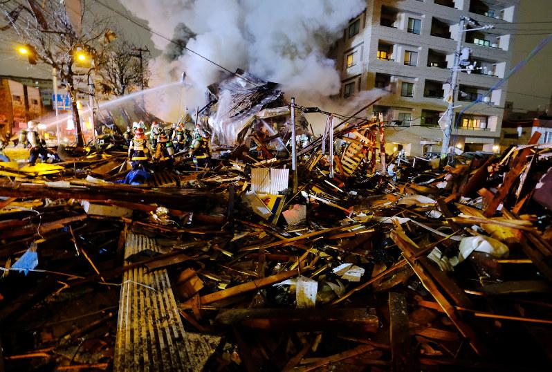「札幌飲食店付近で爆発」の画像検索結果