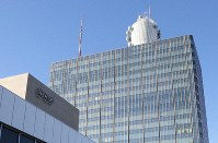 NHK放送センター=東京都渋谷区で、山本晋撮影