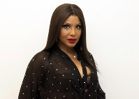 This Nov. 12, 2018 photo shows actress and singer Toni Braxton in New York. (AP Photo/Gary Gerard Hamilton)