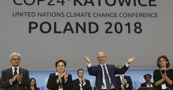 Talks adopt 'rulebook' to put Paris climate deal into ...